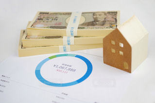 お金と家モデル イメージモデルの写真・画像素材[1789487]