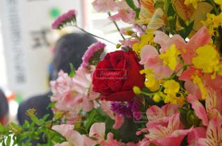 お祝いの花束 入学・卒業の写真・画像素材[2096861]