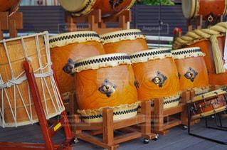 太鼓演舞 お祭りの写真・画像素材[2322252]