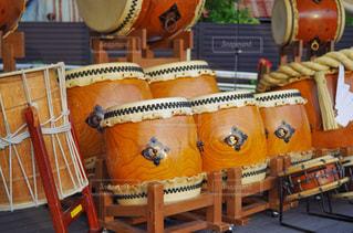 太鼓演舞 お祭りの写真・画像素材[2322254]