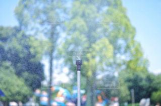 ミストシャワー 熱中症予防の写真・画像素材[2387447]