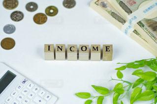 お金イメージ 収入の写真・画像素材[3027450]