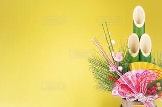 お正月イメージ 門松の写真・画像素材[3780491]