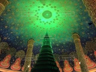 ワットパクナムの天井画の写真・画像素材[1013311]