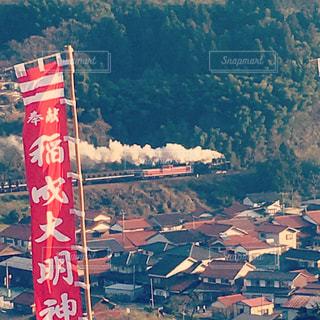 津和野、SLの写真・画像素材[1006911]