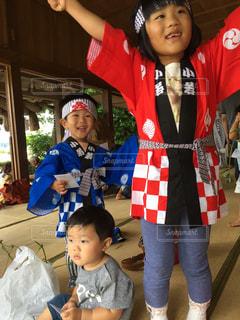 田植え祭りの写真・画像素材[1067291]