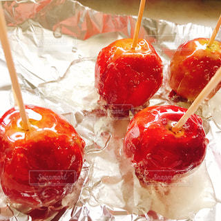 りんご飴つくりましたの写真・画像素材[1600760]