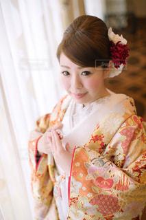 ドレスの少女の写真・画像素材[1112415]
