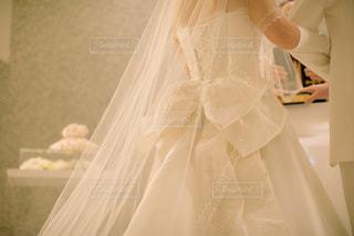 ウェディング ドレスの人の写真・画像素材[1131307]