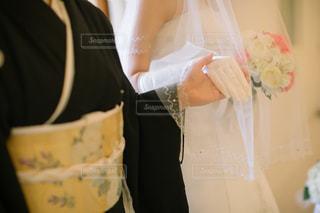 ウェディング ドレスの人の写真・画像素材[1135427]
