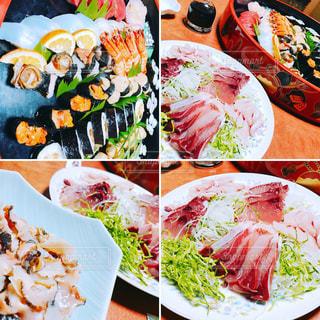 お寿司にお刺身の写真・画像素材[1007545]