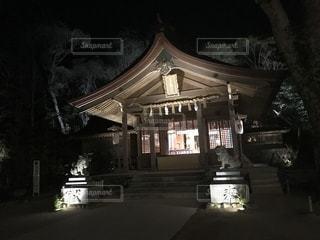 竈門神社 夜は怖い 福岡の写真・画像素材[1007700]