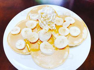 バナナパンケーキの写真・画像素材[1180843]