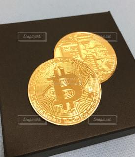 ビットコインの写真・画像素材[1010675]