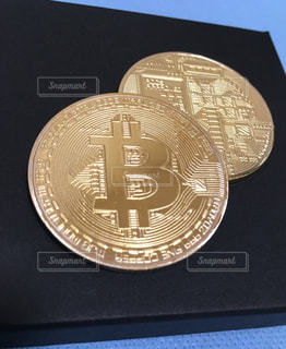 ビットコインの写真・画像素材[1010676]