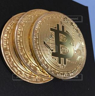 ビットコインの写真・画像素材[1010678]
