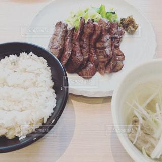 牛タン  牛タン定食の写真・画像素材[605330]