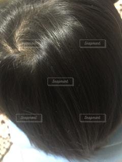 傷んでいない髪の毛の写真・画像素材[1012965]