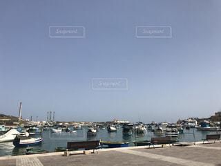 港の船の写真・画像素材[1009005]