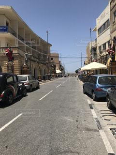 マルタ 街 道路の写真・画像素材[1010078]