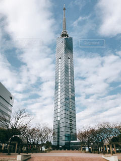 福岡タワーの写真・画像素材[1008851]