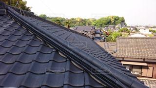建物の屋根の写真・画像素材[1009389]
