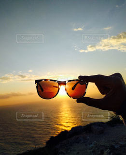 サングラスの写真・画像素材[1010024]