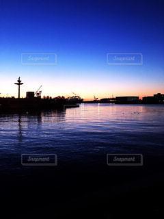 港と海の写真・画像素材[1009863]