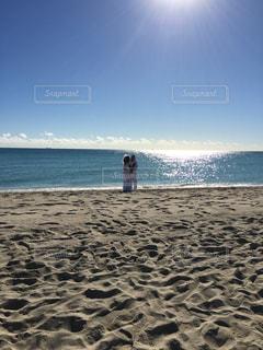 マイアミビーチでのウェディングの写真・画像素材[1010042]