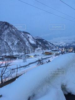 夜の雪山 - No.1018460
