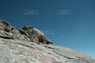 岩山と空の写真・画像素材[1010222]