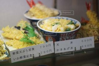 和食店の店頭ディスプレイの写真・画像素材[1016283]