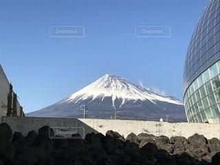 富士山と溶岩 - No.1031745