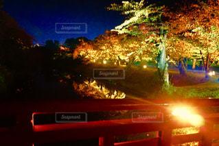 弘前公園で紅葉祭りの写真・画像素材[1010105]