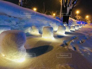 十和田湖冬物語の写真・画像素材[1021805]