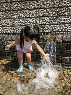 水遊びの写真・画像素材[1202563]