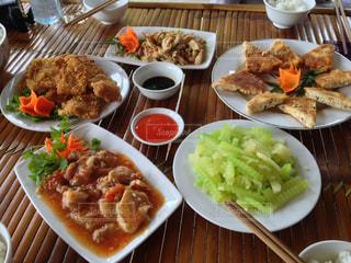 ベトナム中部の伝統料理の写真・画像素材[1010744]