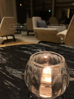 ランプの暖かい光の写真・画像素材[1010765]