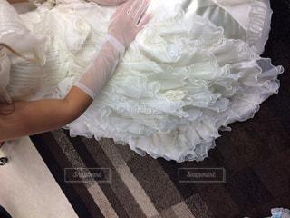 ウェディング ドレスの人の写真・画像素材[1015502]
