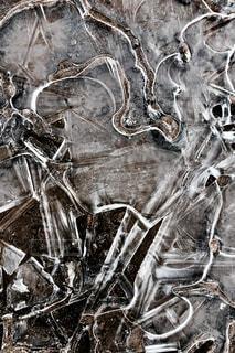 氷の模様の写真・画像素材[1011230]