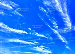 青い空  白い雲の写真・画像素材[1011294]