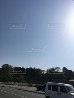 飛行機雲の写真・画像素材[1152261]