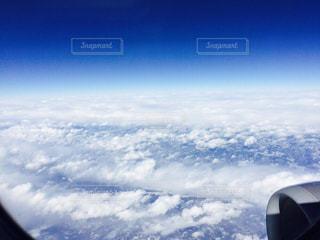 雲の上の写真・画像素材[1025798]