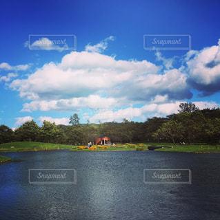水の大きな体の写真・画像素材[1012161]