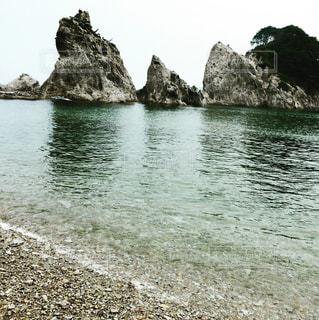 澄んだ海の写真・画像素材[1017036]