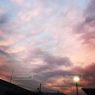 空の雲の写真・画像素材[1017046]