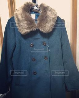 青いジャケットの写真・画像素材[1017073]
