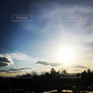 春の夕日☀️の写真・画像素材[1066670]