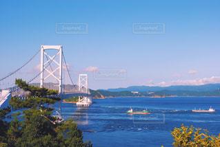 鳴門大橋の写真・画像素材[1012015]