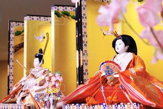仕事場の雛人形 - No.1031353
